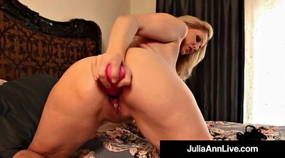 Julia ann, Julia, Blonde mature, Perfect, Milf dildo, Ann