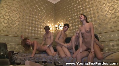 Teen orgy, Russian party, Young sex party, Russian orgy