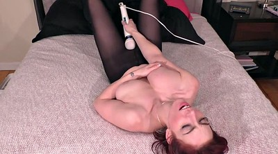 Stocking, Stockings solo, Stockings masturbating