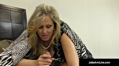 Julia ann, Foot, Cock sucking, Big tits milf