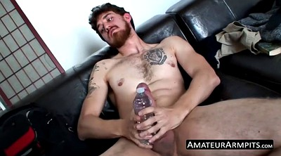 Hairy solo, Ginger, Armpit, Hairy solo masturbation, Armpit hairy