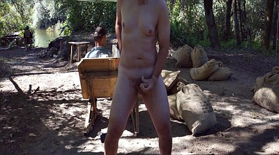 Camp, Naked public, In public, Camping