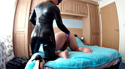 Pegging, Huge toy, Gape, Pegged, Strapon pegging