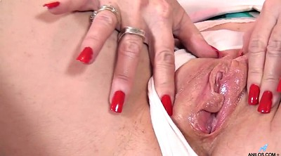 Mature masturbation, British milf