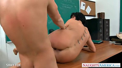 Fox, Classroom, Shay fox, Teacher blowjob, Shay, Busty teacher