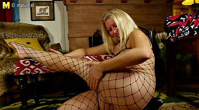Hot mom, American, Hot mature mom, Blond granny