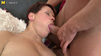 Mature and boy, Grandma, Young milf