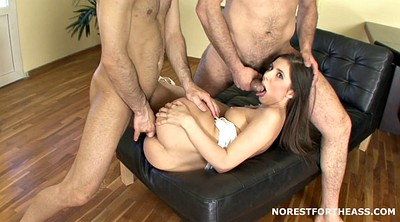 Double creampie, Anal threesome