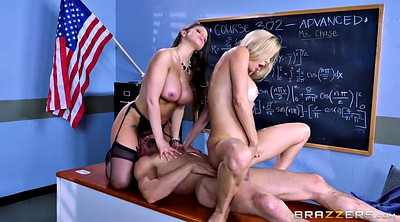 Alexis fawx, Brooklyn chase, Alexis, Tommy, Teachers, Sit in the face