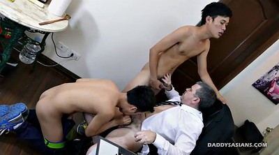 Asian, Old gay, Office granny, Asian granny, Daddy gay, Asian daddy