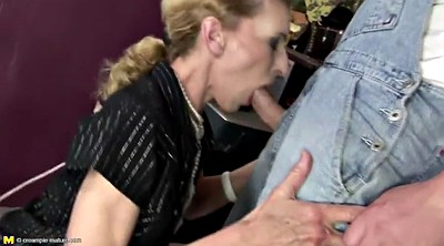 Mature, Pee, Old and young, Drink, Mom anal, Mom sex