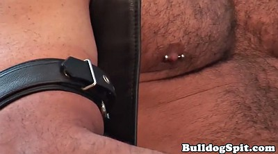 Leather, Bears, Muscle bear, Masturbation solo