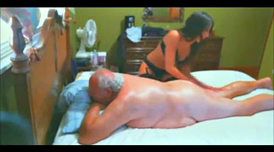 Old man, Escort, Granny massage