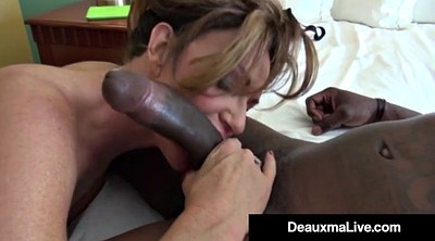 Mature office, Ebony mature