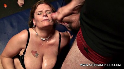 Chained, Chain, Chains, French gangbang, French bbw, Bbw french