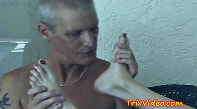 Teen old man, Man feet