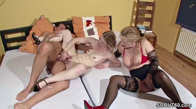 Fuck mom, Young couple, Teaching, Mom threesome, Mom teaching, Mom teaches