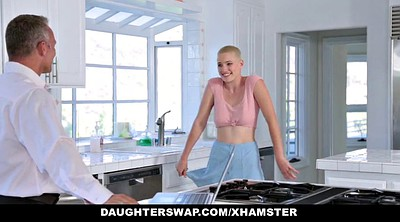 Dad, Hairy fuck, Daughterswap