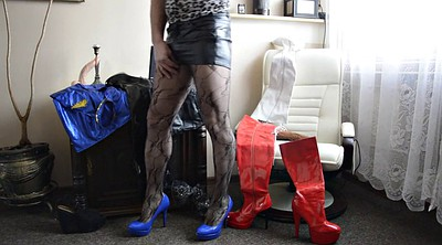 Boots, Pantyhose boots, High