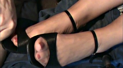 Shoe, Nylon feet, Stockings foot, Stockings feet