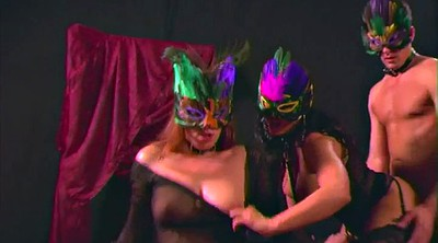Mask, Foursome, Swingers party, Masked