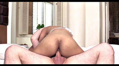 Riding creampie, Big creampie, Mirror, Shemale riding