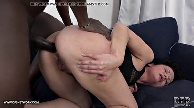 Interracial anal, Screaming anal, Mature squirting, Anal screaming