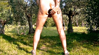 Anal fisting, Forest, Outdoor sex, Forest gay, Fisting anal, Anal finger