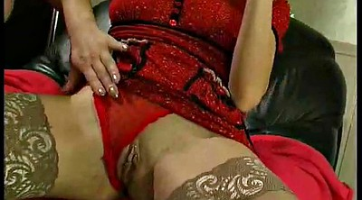 Wet orgasm, Lesbians in stockings