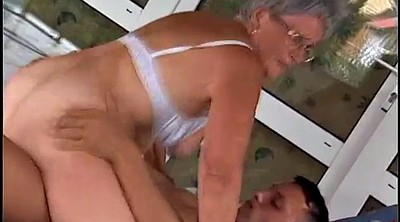 German granny, Granny orgasm