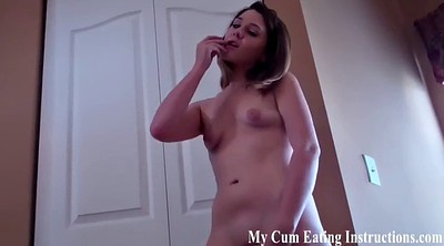 Neighbor, Caught masturbation, Femdom instruction