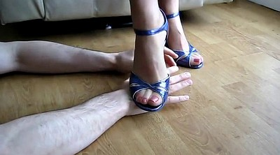 Heels, Trample, High, Trampling, High heeled, Heeled