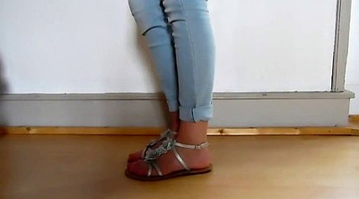 French, Sexy feet
