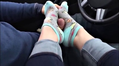Feet, Socks, Sock, Foot job, Job, Sock job