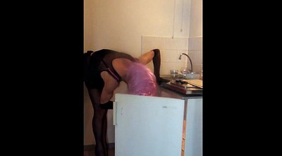 Stocking, Stockings, Maid, Stocking sex, Masturbation stocking
