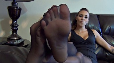 Nylon foot, Nylon feet, Nylons
