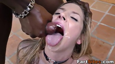 Outdoor, Interracial facial