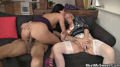 Mom threesome, Young and old, Ride, Mom teach, Mom and, Milf teach