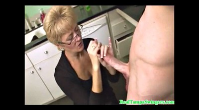 Swingers, Swinger, Hand job, Mature handjob