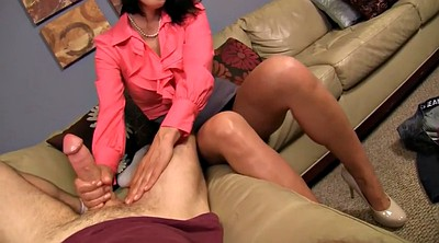 Secretary, Mom pov, Mom handjob, Mom n son, Mom handjob son, Mom dad