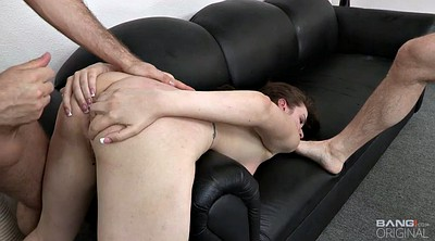 Teen casting, Anal casting