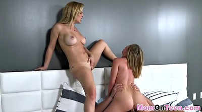 Daughter, Mom and daughter, Mom threesome, Mom daughter