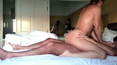 Hotel milf, Interracial homemade