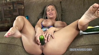 Inserted, Cucumber, Insertion, Mature wife, Insertions