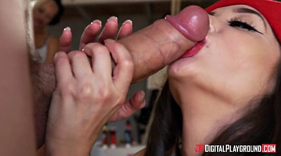 Paige, Brunette, Danny d, Blowjobs