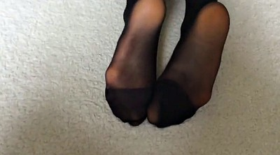 Foot, Nylon feet, Asian foot