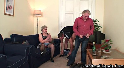Old teacher, Wife gangbang