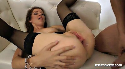 Teen sex, Stockings anal