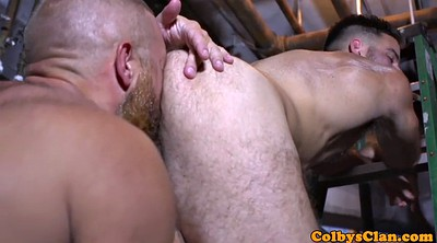 Rimming, Gays, Lick ass, Muscle hunk