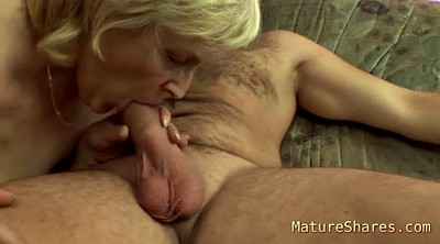 Saggy, Mature handjob